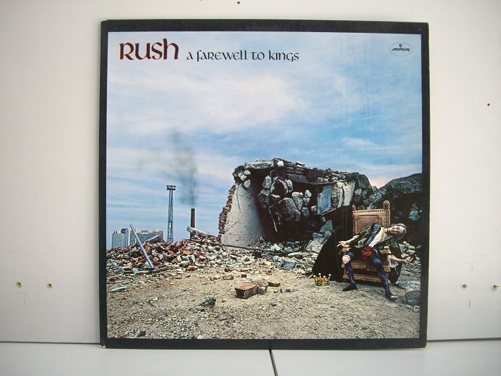 RUSH	A Farewell to Kings	1977	Holland	nm-nm	Цена 1200  р.