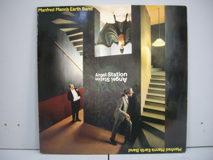 Manfred Mann's Earth Band 	Angel Station	1979	Germany	nm-ex+	Цена 1600 р.