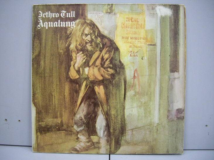 Jethro Tull 	Agualung 	1973	Germany	nm-ex+	Цена 1600 р.
