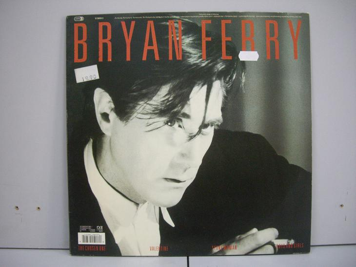 Bryan Ferry	Boys and Girls	1985	Germany	nm-nm Цена 1000   р.
