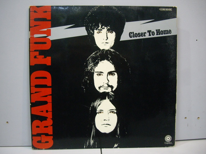 GRAND FUNK	Closer to Home	1970	France	nm-ex	Цена 1600 р.
