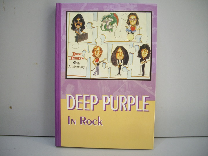 "Дрибущак В. и Галин А. – ""DEEP PURPLE  In Rock  Цена 1000 р."
