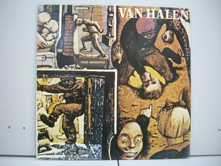 Van Halen 	Fair Warning	1981	Germany	nm-ex+	Цена 1000 р.