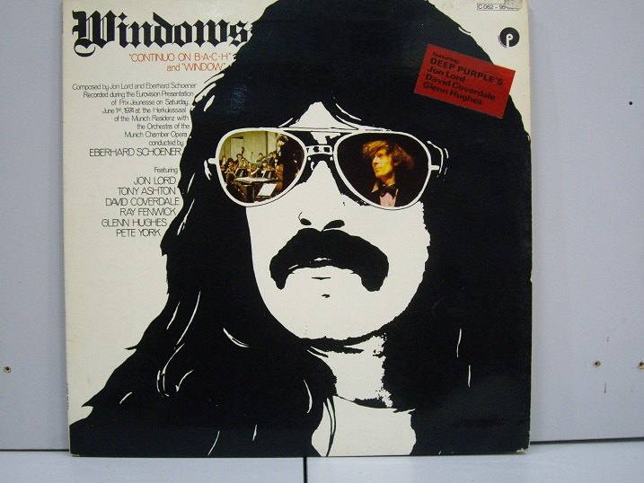 JON LORD	Windows 	1974	Holland	nm-ex+	Цена 1200  р.
