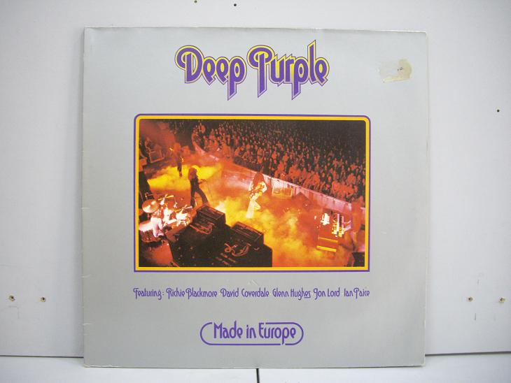 DEEP PURPLE	Made in Europe	1976	England	nm-ex	Цена 1200 р.