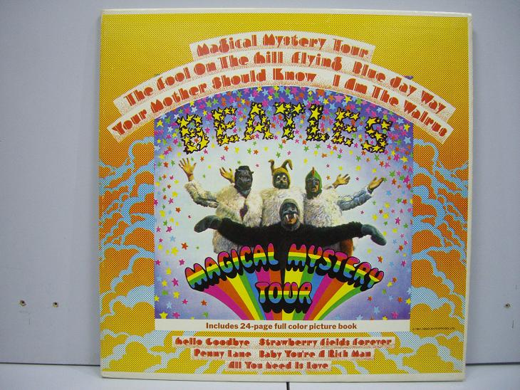 BEATLES THE	Magical Mystery Tour  	1967	England	nm-ex+	Цена 3000 р.
