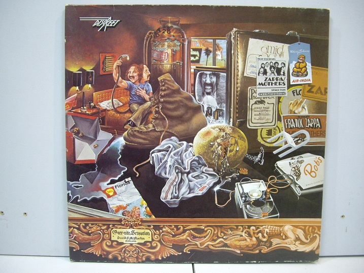 Frank Zappa (Mothers, The )	Over-Nite Sensation	1973	Germany	nm-nm	Цена 1600 р.