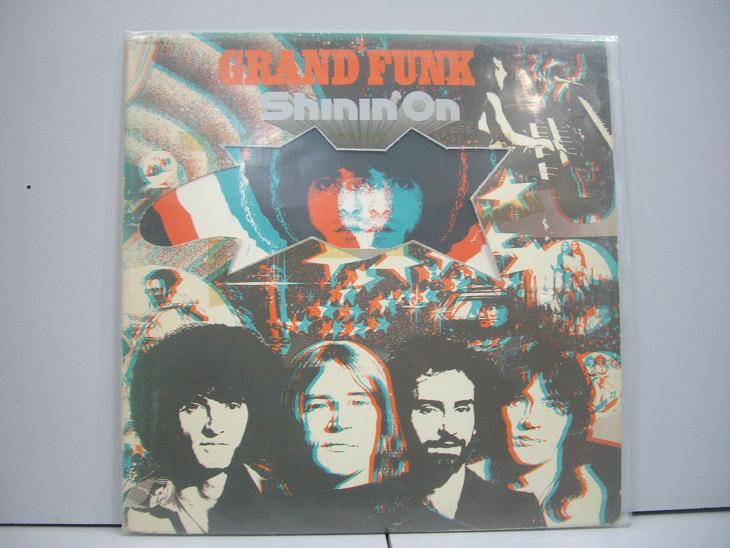 GRAND FUNK	Shinin'on	1974	USA	nm-ex+	Цена 1600  р.