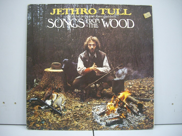 Jethro Tull 	Songs From The Wood	1976	Germany	nm-ex+	Цена 1600 р.