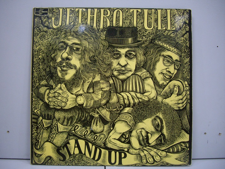 Jethro Tull 	Stand Up	1969	England	nm-ex+	Цена 2000 р.