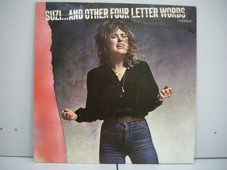SUZI QUATRO	Suzi…And Other Four Letter Words	1979	Germany	nm-nm	Цена 1500  р.
