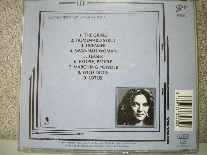 Tommy Bolin	Teaser	1975	Sony Music	Цена	800	р.