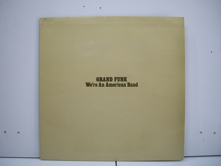 GRAND FUNK	We're an American Band	1973	Holland	nm-nm	Цена 1600  р.